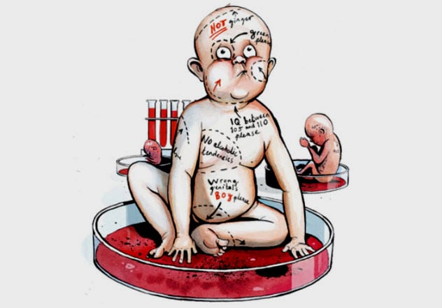 The science of eugenics and the creation of designer babies