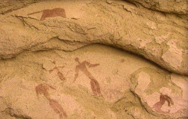 Egyptian Cave Nativity Scene
