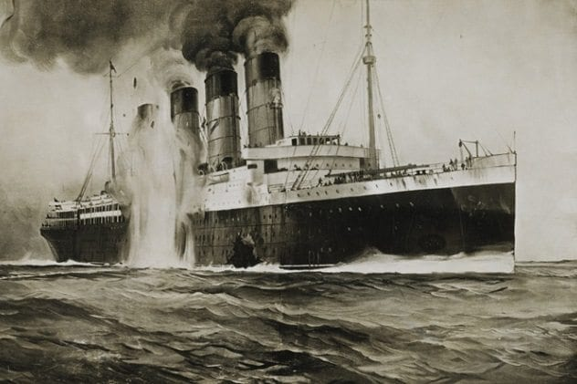 False flag operations lusitania-sinking