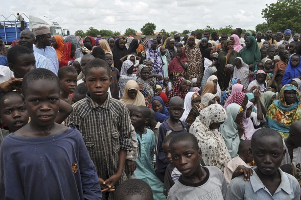 Displaced people in Nigeria