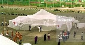Biggest mosquito net