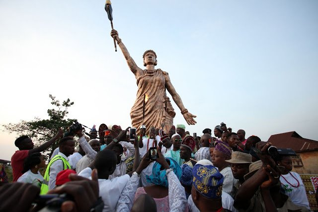 Tallest statue in Africa