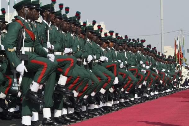 List of Most powerful militaries in africa