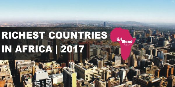 top 10 rchest countries in africa 2017