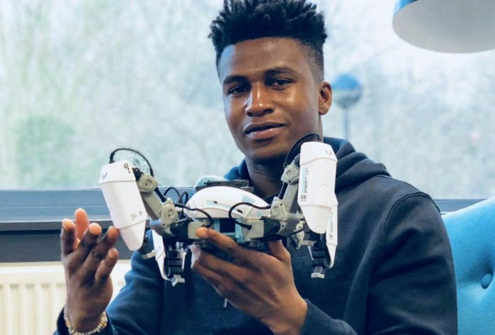 the 26-year-old Nigerian is now the Highest Paid Robotics Engineer in the World