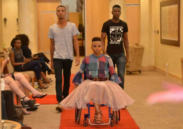 Africa's First Disabled Model