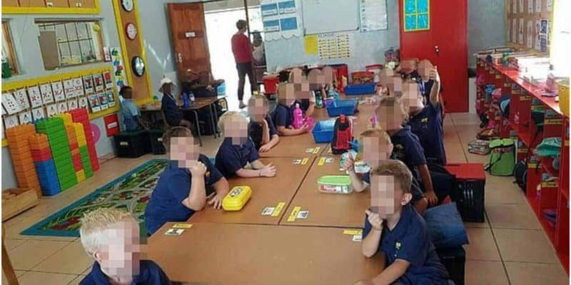 Picture of Black and White Kids Sitting Separately in South Africa Goes Viral