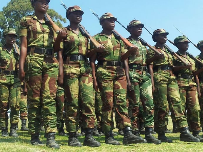 Zimbabwean Soldiers Banned From Marrying Each Other