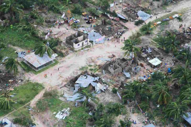 Floods Destroy Homes, Trap Families in Cyclone-hit Mozambique