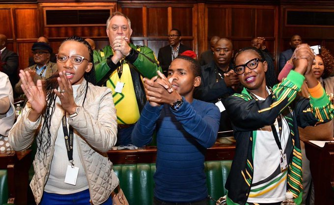 Twenty One Year-old Itumeleng Ntsube to be Sworn in as Youngest MP in South Africa