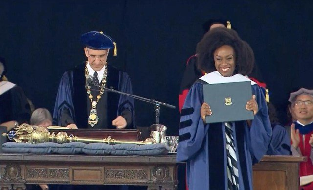 Nigeria: Chimamanda Makes History as First African to speak at Yale's Class Day