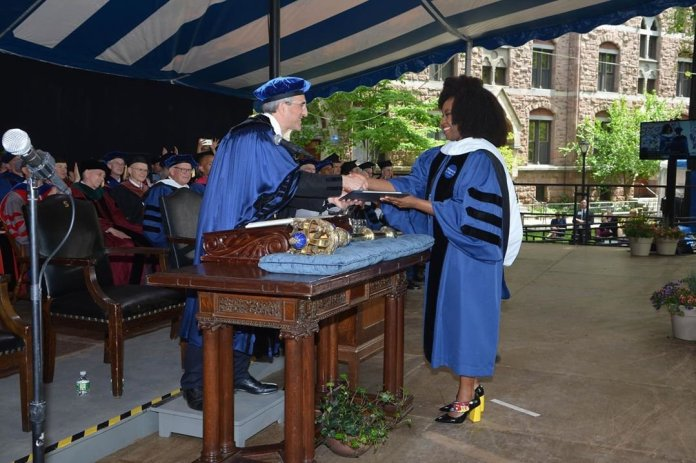 Chimamanda Adichie Awarded Doctor Of Letters, Honoris Causa By YALE
