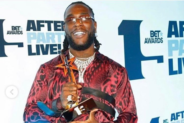 Nigeria's Burna Boy Wins 2019 BET Best International Act Award