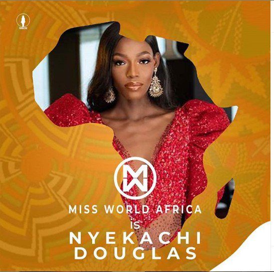 Nigeria's Nyekachi Douglas Crowned Miss World Africa 2019. Here's All You Need to Know About Her