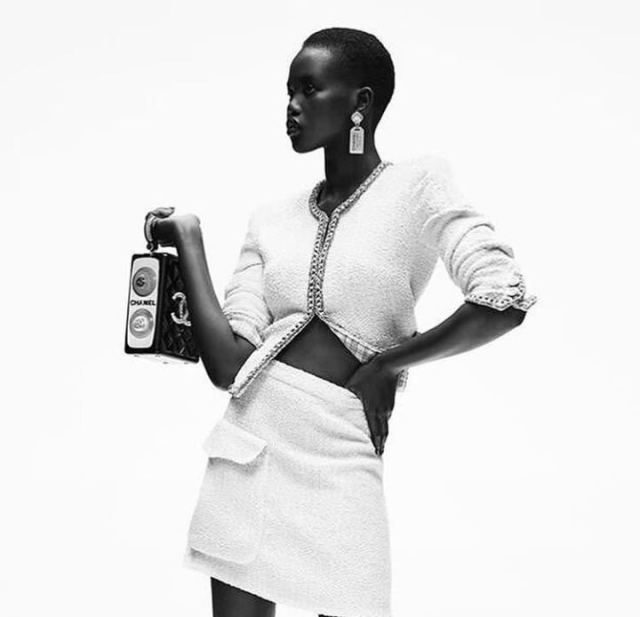 South Sudanese Model Adut Akech Wins Model of the Year in British Fashion Awards 2019
