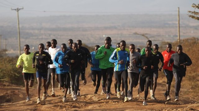 Most of the fastest runners in the world come from Kalenjins in Kenya