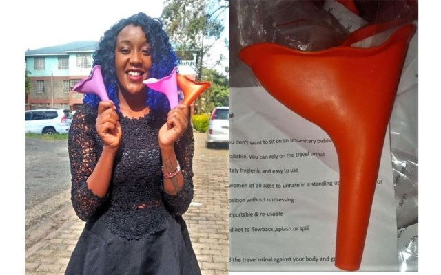 The Kenyan Woman Selling Peeing Cup to Prevent Infections