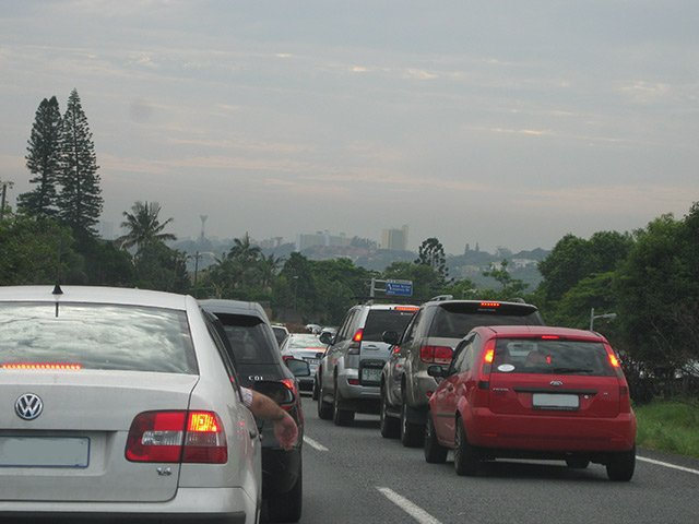 Traffic congestion in durban south africa