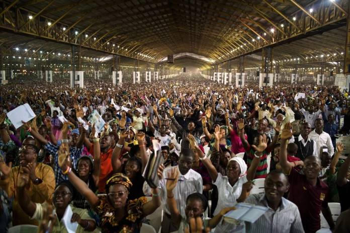 Six of the world's 10 Largest Christian Countries will be in Africa By 2060