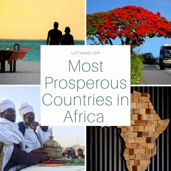 Most Prosperous Countries in Africa, 2020
