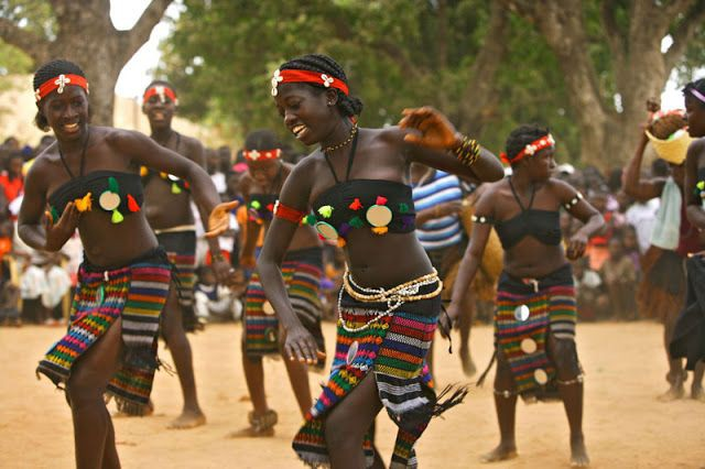 Bijago People of Guinea Bissau Where Women Propose to the men
