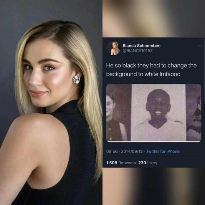 Bianca Schoombee Withdraws From Miss SA 2020 After Old Offensive Tweets Resurface