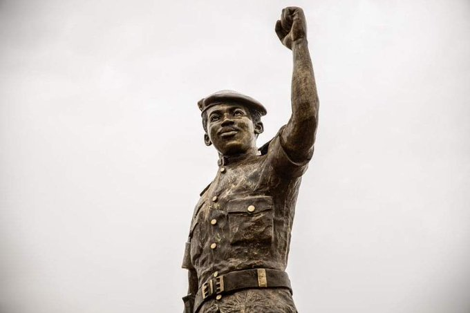 New Statue of Revolutionary African Icon Thomas Sankara Unveiled in Burkina Faso