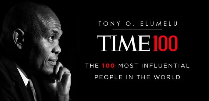 Tony Elumelu, Three other Nigerians Among Time Magazine 100 Most Influential People Of 2020