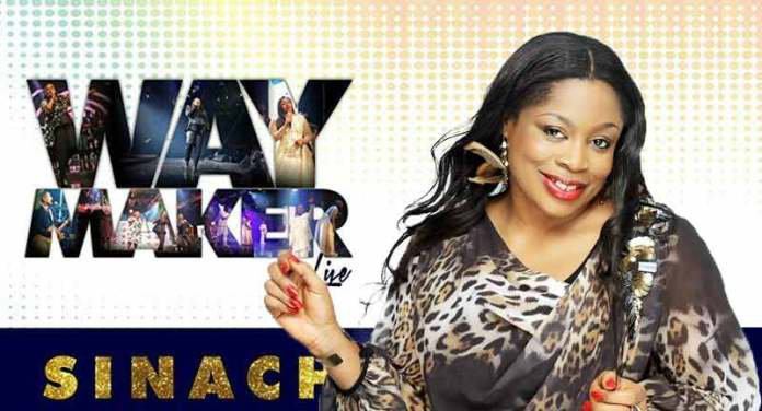 Sinach's 'Way Maker' Is The Song Of The Year At The 51st Dove Awards 2020