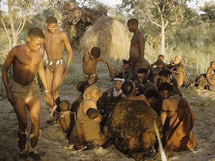 The Creation Story of the San People of Southern Africa