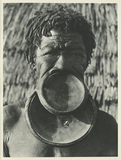 History of the African tribal lip plates