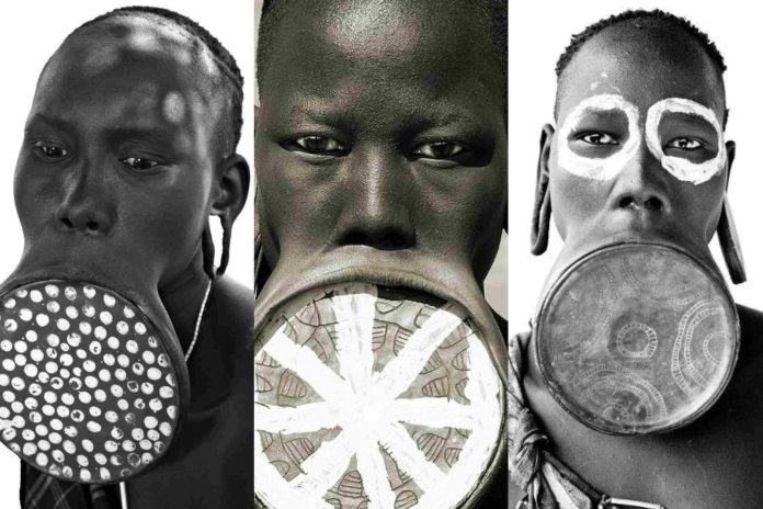 African tribal lip plates: History and Symbolism — In Pictures