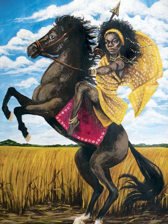 The Horse-Riding Warrior Princess of Burkina Faso
