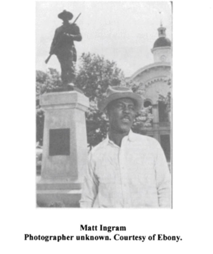Matt Ingram, the Black Man Who Was Convicted in 1951 for Staring at a White Woman From 75 Feet Away