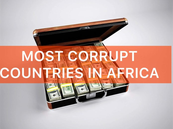 top 20 most corrupt countries in Africa 2021