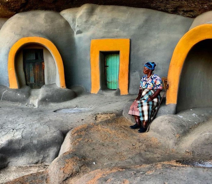 the Kome Cave Village in Lesotho