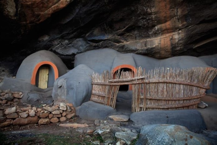 the Kome Caves of Lesotho