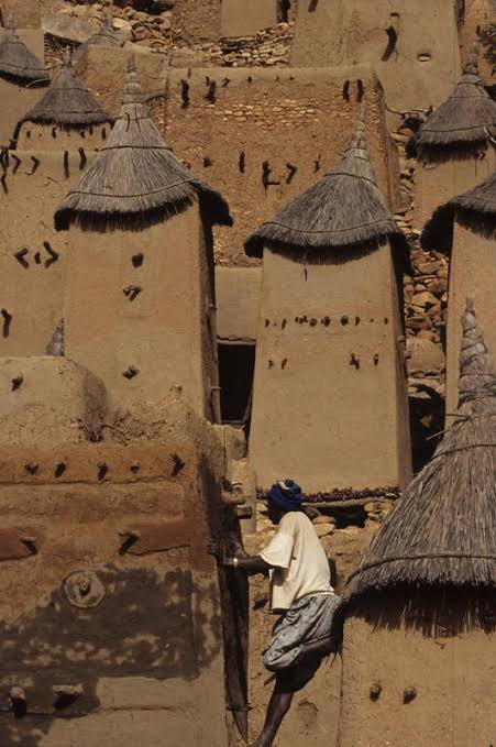 The Remote Cliff Dwellings of the Dogon People of Mali