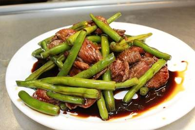 44. Beef and Green Bean