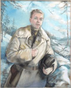 Серия картин Аиды. Проект к юбилею Победы. Дмитрий Лавриненко