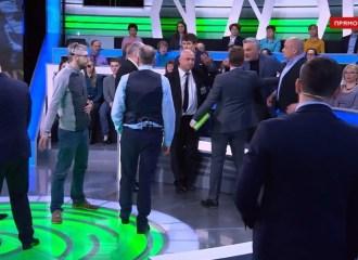 Очередная «потасовка» в эфире НТВ