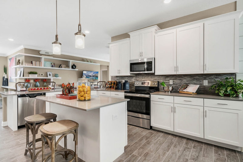 Interior Design and Merchandising of Model Homes | Lita ... on Model Kitchen Design  id=94363