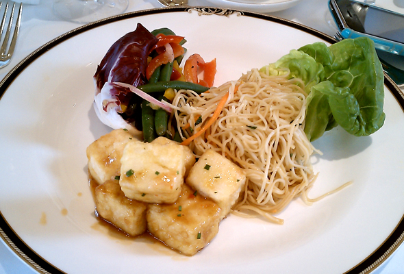 Tofu lunch at Westin