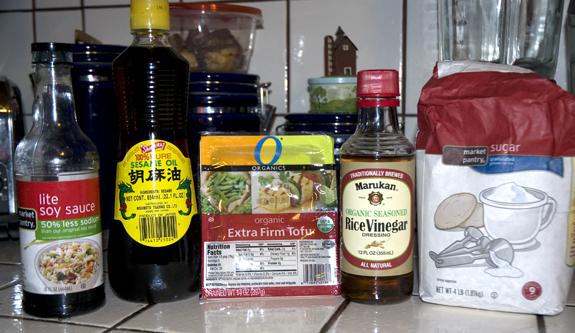 soy glazed tofu ingredients