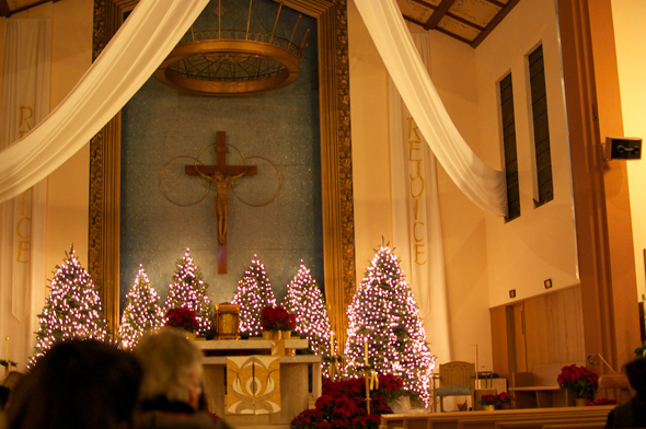 Midnight Mass at Christmas