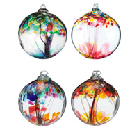 Uncommon Goods Glass Ornaments