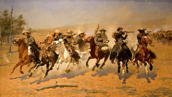 Remington painting