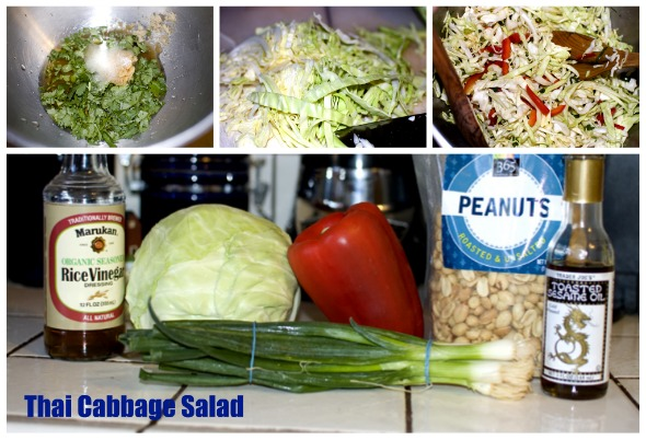 Thai Cabbage Salad