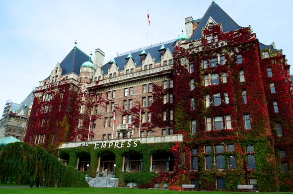 The Empress in Victoria