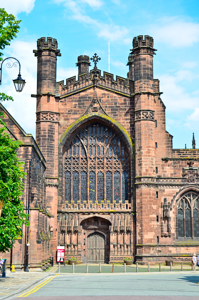 St. Peter's Church in Chester, England